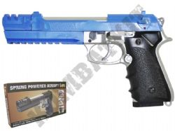 HA118EL Airsoft BB Gun in Black and Blue